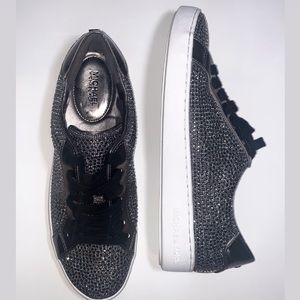 Michael Kors Silver Embellished Sneakers⚡️